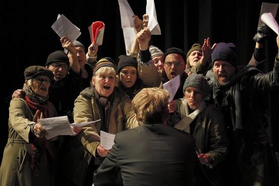 Recensie: Kerstproductie van Leidse toneelgroep Imperium is sfeervol, maar rommelig