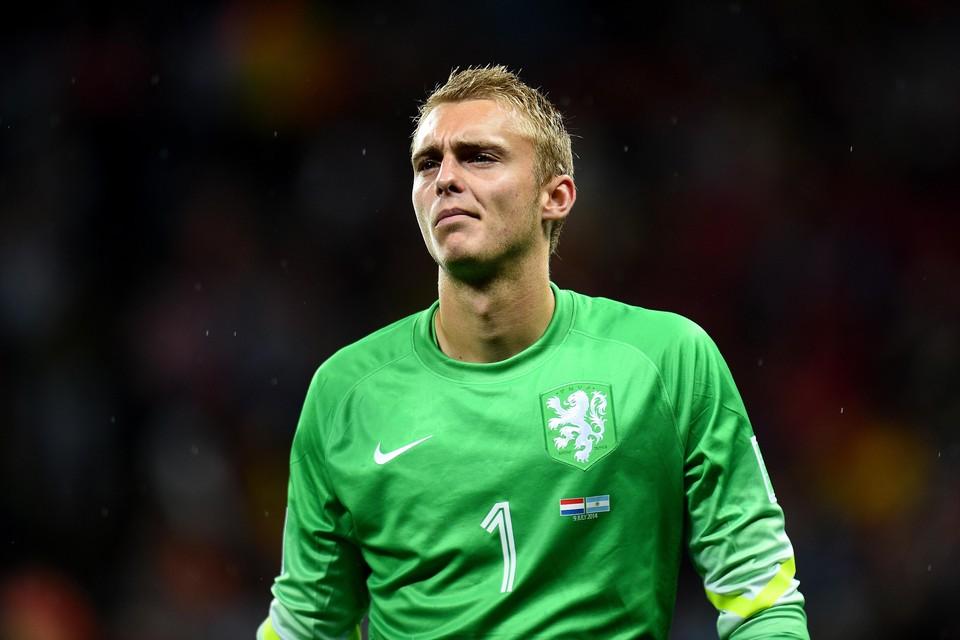 Jasper Cillessen baalt stevig dat hij door Frank de Boer buiten de selectie wordt gehouden.
