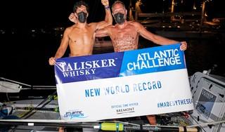 'We hebben het leuk gehad', zegt roeier Mark Slats droogjes na het voltooien van monsterrace van 5000 kilometer in recordtijd [video]