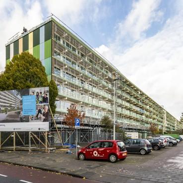 Agaatlaan: de langste van Leiden komt boordevol energie te zitten