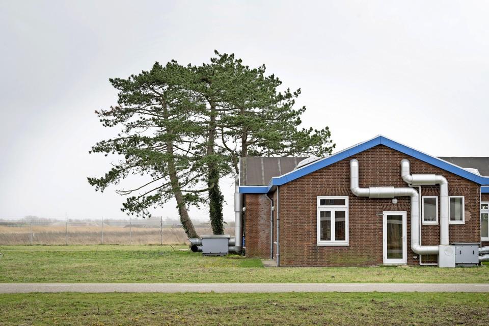 Voormalig vliegkamp Valkenburg, waar het nieuwe dorp Valkenhorst moet verrijzen.