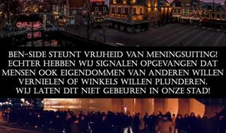 Voetbalsupporters als 'beschermheiligen' tegen rellen in steden: 'Ze bewaken hun territorium'