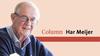 Hij legt mij uit dat ze elkaar appen als er geelgroene hesjes met een knuppel in de broekriem in aantocht zijn | column Har Meijer