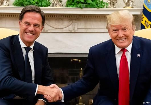 Trump: relatie met Nederland nog nooit zo goed