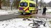 Jongeman gewond bij aanrijding met auto in Leiden