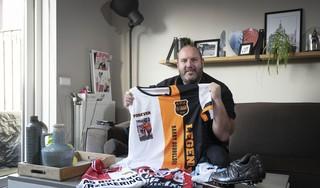 Barry Dubbeldeman koestert de 28 minuten die hij speelde tegen RKC Waalwijk: 'Hoeveel supporters kunnen zeggen dat ze een wedstrijd voor Feyenoord hebben gespeeld?'