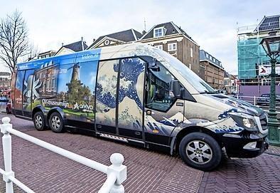 Museumbus al na jaar uit de roulatie