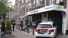 Vrouw aangereden door maaltijdbezorger op een fiets in Leiden