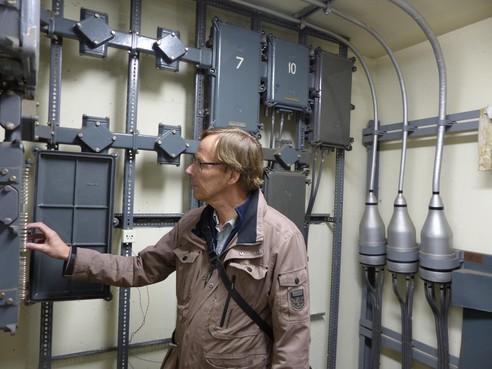 Een geheim knooppunt van telefoonverkeer in Wassenaar