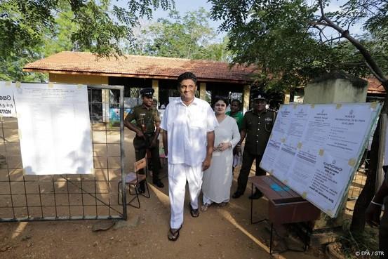 Spannende race om presidentschap Sri Lanka