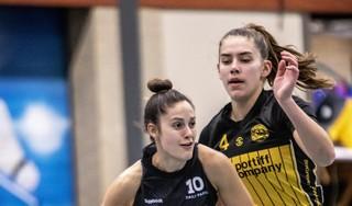 Basketbalsters Grasshoppers hervinden zichzelf al een beetje in Haarlem en verslaan nieuwkomer Triple Threat