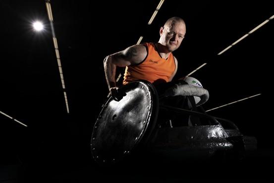 Leidse rolstoelrugbyer Davy van den Dop heeft Tokio 2020 als grote doel