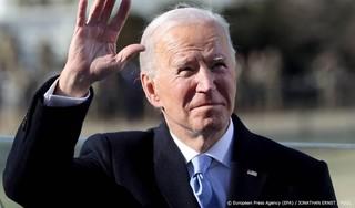 Nieuwe president Biden in het Witte Huis aangekomen