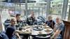 Alphens grandcafé De Zaak op het Rijnplein loopt onder bij stortbui