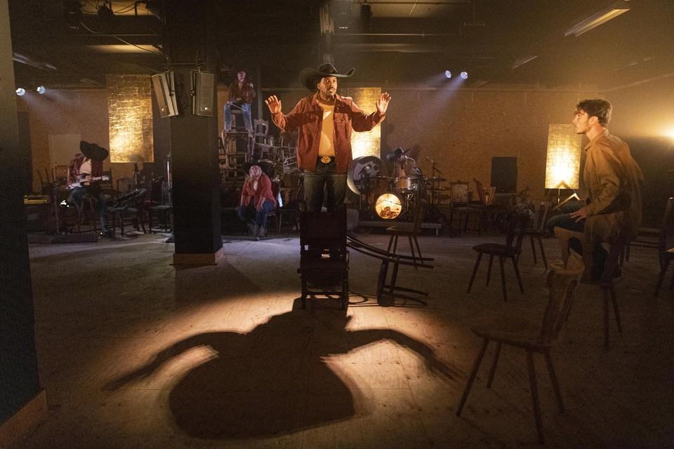 Een scène uit de voorstelling 'Ballade van Bodie' van Kassett.