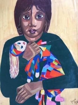 Cliënt bij GGZ Rivierduinen exposeert tekeningen