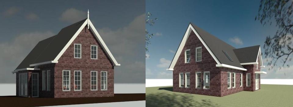 Impressie van de nieuwbouw aan Ofwegen 7.