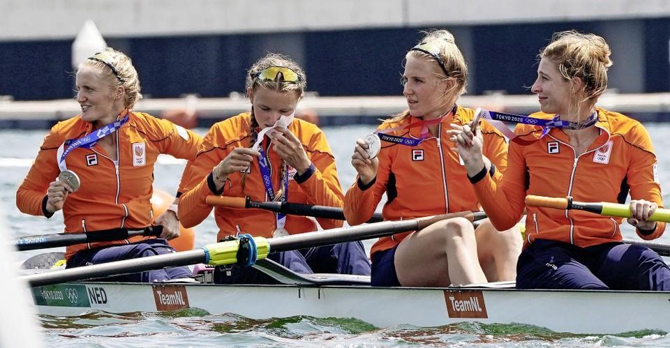 Ellen Hogerwerf, Karolien Florijn, Ymkje Clevering en Veronique Meester (v.l.n.r.)