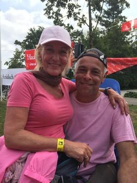Leidse Hans (58) en Anneke (54) Rosheuvel bij Vierdaagse heen en weer geslingerd in achtbaan van emoties