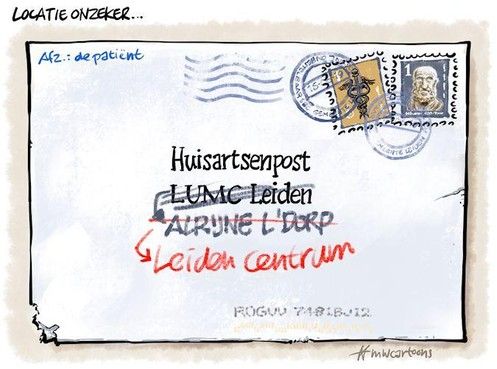 Cartoon: Huisartsenpost
