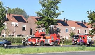 Bewoonster gewond bij brand in woning Leiderdorp