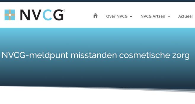 Meldpunt open voor cosmetische missers