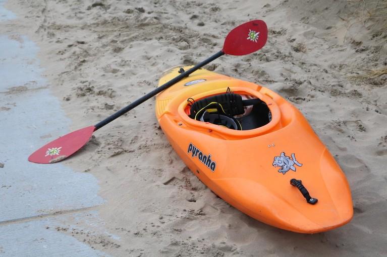 Grote zoekactie naar bij Noordwijk vermiste zee-kajakker