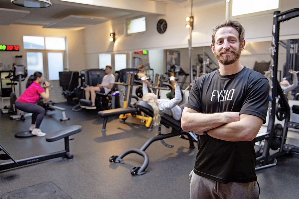 Fysiotherapeut David Klaber.