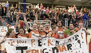 Korfbalvereniging Pernix ontvangt Koninklijke Erepenning