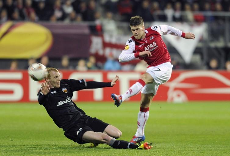 Toen er op 29 maart nog wél gesport werd: AZ wint in kwartfinale Europa League