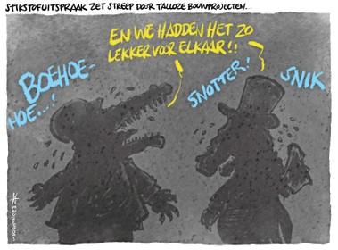 Cartoon: Krokodillentranen