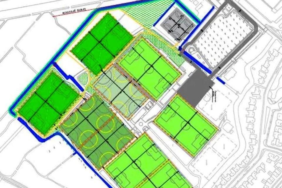 De herinrichting en uitbreiding van sportpark Elsgeest.