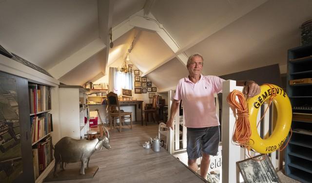 'Op zondagochtend ga ik hier zitten en genieten': mancave museum herbergt Voorhoutse spullen