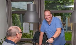 Paul Molenaar uit Hoorn heeft na zijn carrièreswitch de lichtjes in zijn ogen terug