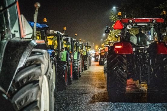 Files door boerenprotest beginnen af te nemen
