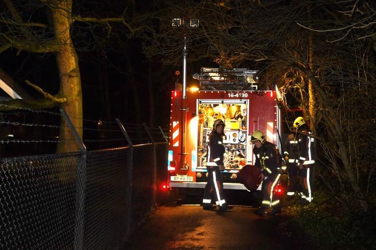 Fikse brand bij theehuis De Leidsehout in Leiden [video, update]