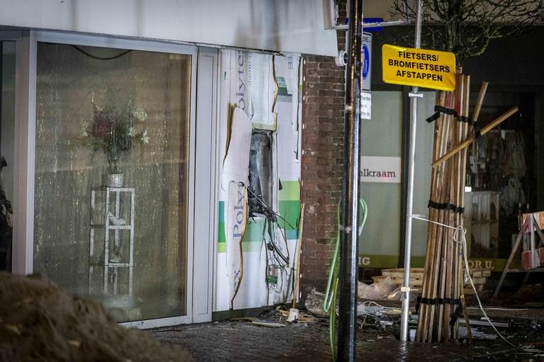 Plofkraak bij pinautomaat Hillegoms centrum: 'Dit wil je niet in je dorp'