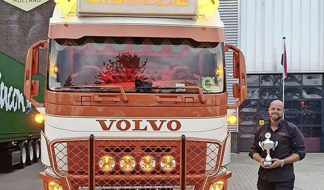 Leiderdorper Chris Sollie heeft niet de Mooiste Truck van Nederland, maar is wel 'heel blij' [video]
