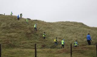 Nieuwe zoekactie naar vermiste man uit Rijnsburg in zee bij Katwijk [update, video]