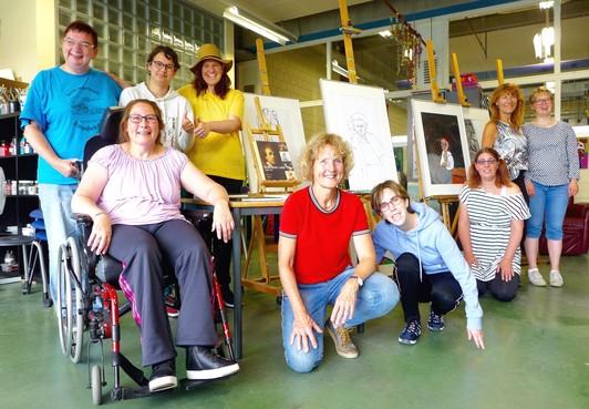 Atelier Verfstreken waagt zich aan Rembrandt: 'In mijn schilderij laat ik mezelf zien'
