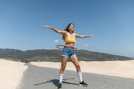 Je voelt weer spieren onder het spek: Ophoepelen met die (quarantaine)kilo's