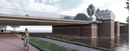 Architect: 'Stop met dit plan voor renovatie Koningin Julianabrug in Katwijk'