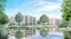 Appartementenblokken Hofbrouckerpark Oegstgeest worden vijf hoog