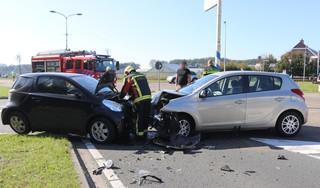 Persoon gewond bij frontale aanrijding in Noordwijkerhout