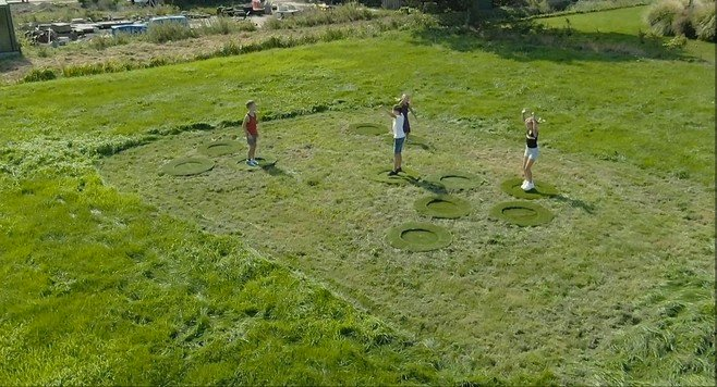 Van Heemskerkplein in Lisse kan gaan springen op stuitergras
