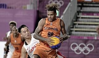 Basketballers 3x3 winnen twee keer in Tokio van Aziatische teams, Arvin Slagter beslissend [update]