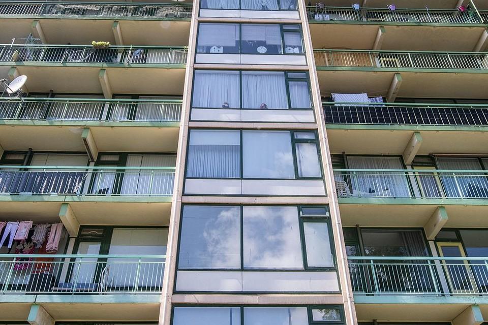 ,,Als je daar de rijtjes flats verandert in blokken, met een mooie binnentuin, kun je nog veel bijbouwen. Het hoeft niet heel hoog te zijn, ik heb me door architecten laten vertellen dat vanaf zes hoog mensen het contact met de buurt gevoelsmatig verliezen.''