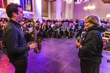 Hooglandse Kerk eenmalig als jazztempel bij opening van veertigste Leidse Blues & Jazzweek