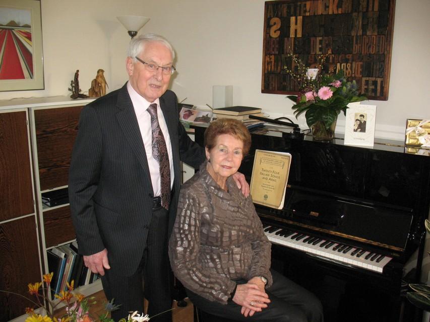 Nic en Anne Snaas toen zij zestig jaar waren getrouwd in 2013.