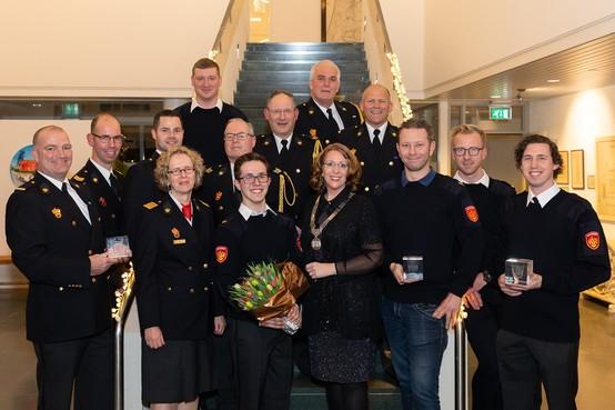 Brandweer krijgt Teylingse prijs vrijwilligers